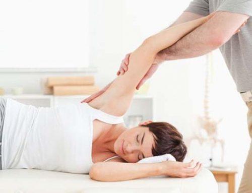 En los tratamientos de fisioterapia que no te la den