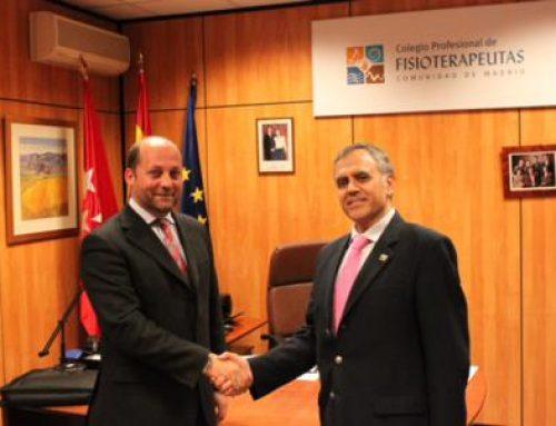 El Collegi de Fisioterapeutes de Catalunya firma un convenio de colaboración con el Colegio Profesional de Fisioterapeutas de la Comunidad de Madrid.