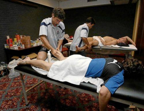 Un masaje en lugar de un antiinflamatorio